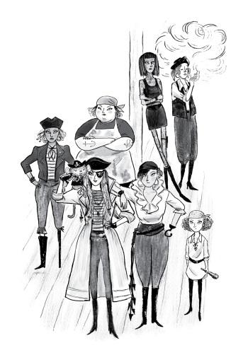 Jolly Regina crew