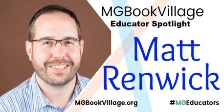 MGBookVillageEducatorsMonthMattRenwick