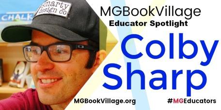 MGBookVillageEducatorsMonthColbySharp