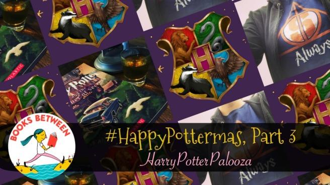 Happypottermas Part 3 Harrypotterpalooza Books Between Episode 65