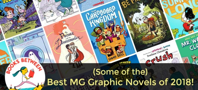 Some of the) Best MG Graphic Novels of 2018: Books Between