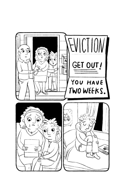 Eviction Notice-- Gina Perry's illustration from OPERATION FROG EFFECT.jpg