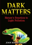 Cover of DARK MATTERS, with link to book's page on publisher's web site.