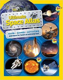 Cover of ULTIMATE SPACE ATLAS, with link to book's page on author's web site.