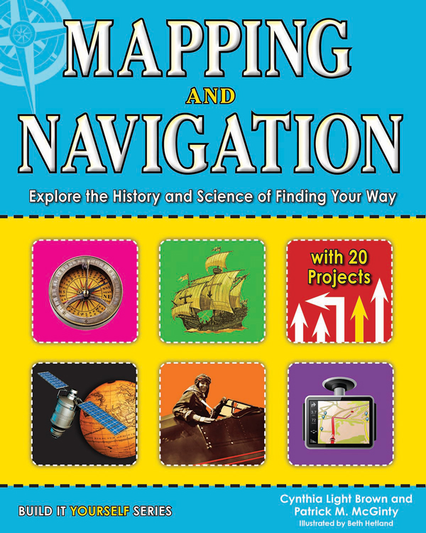 Cover of MAPPING AND NAVIGATION with link to book's page on publisher's website.
