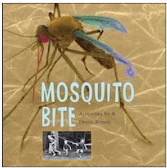 Cover of MOSQUITO BITE with link to book's page on publisher's website.